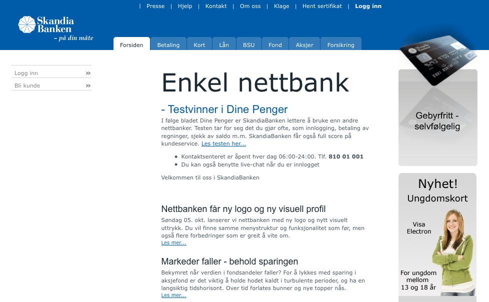 skandiabanken no norge